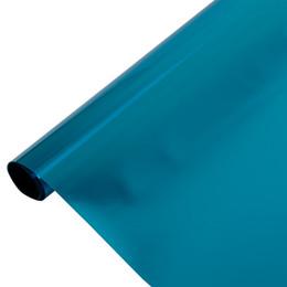 $enCountryForm.capitalKeyWord Australia - SUNICE Window Glass Sticker One Way Vision Mirrored Film Blue Silver Tiint Solar Tint Film Decorative House Decoration 1.52*3m