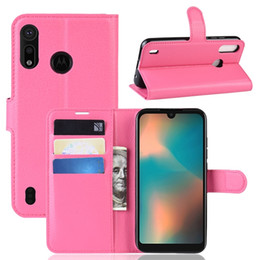 Chinese  Litchi Wallet Leather Case For MOTO P40 PLAY Power OPPO F11 Pro Google Pixel 3A XL LG Stylo 5 ONE PLUS 7 PRO Stand Leechee Skin Cover 1pcs manufacturers