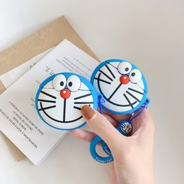 Doraemon box online shopping - For Airpods Case D Cartoon Doraemon Silicone Case For Apple Airpods Charging Box Cover For Air Pods