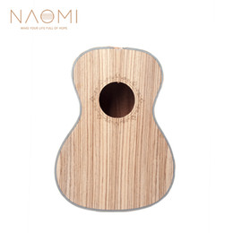 ukulele accessories NZ - NAOMI 23 Inch Concert Ukulele Body Zebrawood Body DIY Ukulele For 23'' Hawaii Guitar Ukulele Parts Accessories New