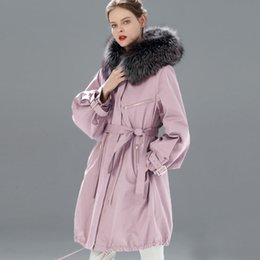 $enCountryForm.capitalKeyWord Australia - Waterproof Winter Jacket Women Brand 2019 Long Parka Natural Raccoon Fox Fur Collar Hooded Real Fur Coat Female Warm Snow Coats SH190905