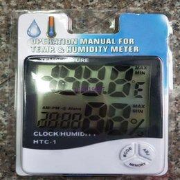 $enCountryForm.capitalKeyWord Australia - 1000pcs Digital LCD Temperature Hygrometer Clock Humidity Meter Thermometer with Clock Calendar Alarm HTC-1
