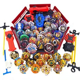 beyblade toys launcher UK - Top Set Launchers Beyblade GT Burst Toy Blade Blades Metal Bayblade Bables Top bey blade for Kids Y200703