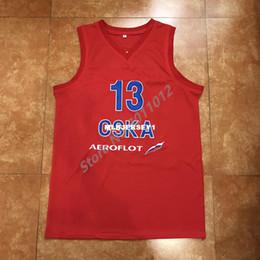 "$enCountryForm.capitalKeyWord Australia - 2018 New #13 SERGIO ""CHACHO"" RODRIGUEZ CSKA MOSCOW Top jersey all size Embroidery Stitched XS-6XL Vest Jerseys Baseball"