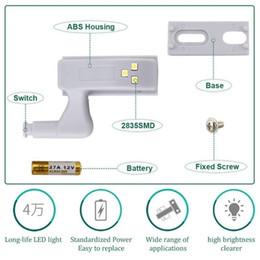 $enCountryForm.capitalKeyWord Australia - 3 LED Sensor Light Universal Furniture Cupboard Cabinet Wardrobe Hinge Led Lamp Night Light Door Kitchen LED Bulb Energy Saving Free shippin