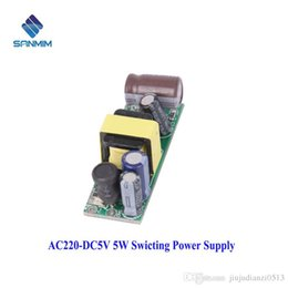 Wholesale Usb Audio Board Australia - 5W 220V To 5V Isolated switching power 220V TO 5V supply Power module board X7758