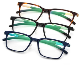 TiTanium prescripTion glasses online shopping - Belight Optical Acetate with titanium Mens Classcial Full Rime Glass Frames Designer EyeGlasses Fashion Prescription