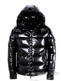 Cross bow sales online shopping - Designer Jackets Hot Sale Men Winter Patch Down Jacket Casual Hip Hop Warm Trendy Jacket Male White Duck Down Man Winter Coat Black
