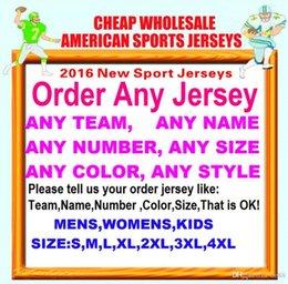 Toptan satış Tüm Dikişli Özel amerikan futbol formaları Cleveland Dallas kolej otantik ucuz beyzbol basketbol erkek bayan gençlik ABD 4xl meksika
