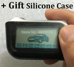 $enCountryForm.capitalKeyWord Australia - A93 LCD Remote Control Key chain + Gift Silicone Case for Twage Starline A93 Two Way Car Burglar Alarm System Keychain Fob