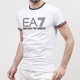 T shirTs facTory online shopping - luxur brand design men s cotton double buckle t shirt fashion avant garde factory direct