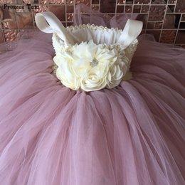 $enCountryForm.capitalKeyWord Australia - Flower Girl Tutu Dress Ankle-length Princess Tulle Kids Tutu Dresses For Girls Wedding Party Dress Children Pageant Ball Gowns J190706