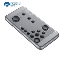 Android Tv Box Gamepad Australia - MOCUTE 055 Mini Gamepad Bluetooth Wireless Game Controller Remote Control Android Joystick Game Console For VR Smartphone TV BOX