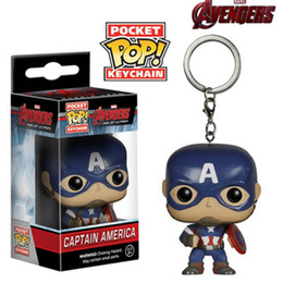 marvel rings Australia - Drop shipping The Avengers marvel key ring Captain America key pendant 14 styles keychain high quality small gift
