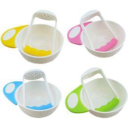 $enCountryForm.capitalKeyWord Australia - 1Pc Feeding Bowl For Baby Infant With Handles Kids Children Training Bowl Tableware Dinnerware Baby Dinner Feeding Bowls Dishes