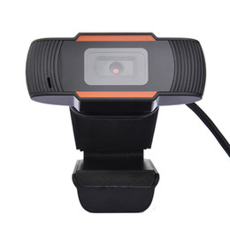 Wholesale china cams online – design USB Web Cam Webcam HD P PC Camera with Absorption Microphone MIC for Skype for Android TV Rotatable Computer Camera