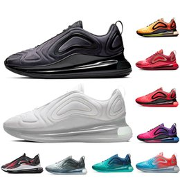 d43b1efa3 Black White 720 Cushion running shoes designer shoes Red Blue Grey Gold  Sunset Rainbow mens sneaker women shoes size Eur 36-45