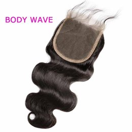 5x5 lace closure bleached knot Australia - Brazilian Straight 5x5 lace closure bleached knot swiss lace brazilian body wave closure free middle part Malaysian 5x5 lace closure