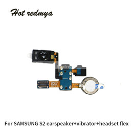 $enCountryForm.capitalKeyWord Australia - For Samsung Galaxy S2 i9100 Ear Piece Speaker Flex Cable Earpiece Speaker Headset Flex Sound Microphone Repair Parts Free Shipping