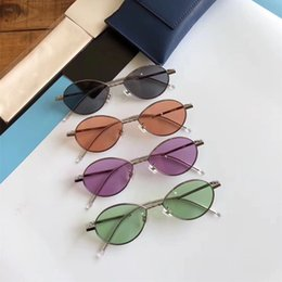 d0a6aee7b35 New Stylish Oval Sunglasses Fashion Korea Designer Full Frame Simple Glasses  High Quality UV Protection Brand Famous Eyewear with Box   Case