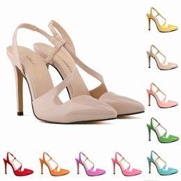 $enCountryForm.capitalKeyWord NZ - Sexy2019 Light Lu Can Ni Leather Fine Sharp Grain Women's Sandals