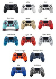 $enCountryForm.capitalKeyWord Australia - Bluetooth Wireless PS4 Controller for PS4 Vibration Joystick Gamepad PS4 Game Controller for Sony Play Station With retail box DHL ship