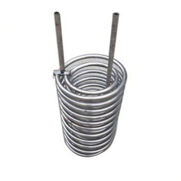$enCountryForm.capitalKeyWord UK - Customizable gr2 titanium coil pipe tubing for heat exchanger High Quality Low Price ASTM B338 Polished Gr2 Threaded Titanium Tube