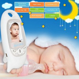Wholesale VB601 Wireless Baby Monitor Infant 2.4GHz Digital Video Baby Monitor Temperature Display Night Vision Music Nanny Monitor 4
