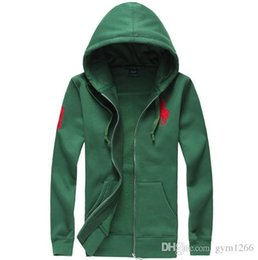 Polo hoodie men online shopping - Malaysian embroidery hoodie new Hot sale Mens polo Hoodies and Sweatshirts autumn winter casual with a hood sport jacket men s hoodies