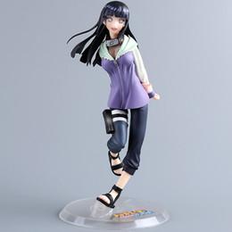 Discount megahouse figures - 22cm Japanese Classic Anime Figure Naruto Hinata Action Figure Megahouse Gem Hinata Hyuga Pvc Figure Toys Naruto Byakuga