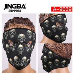 $enCountryForm.capitalKeyWord Australia - JINGBA SUPPORT New Outdoor sport Riding bike mask ski mask Windproof Full Face Facemask Halloween Skull Cool Dropshipping