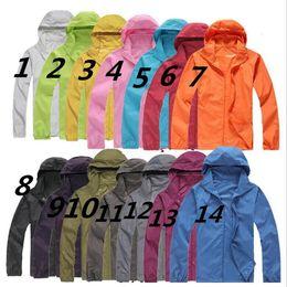 Jackets xxxl waterproof online shopping - 2019 NEW North Summer New Brand Women s Men s Fast drying Outdoor Casual Sports Waterproof UV Jackets Coats Face Windbreaker Black