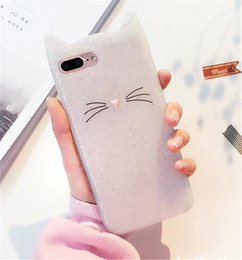 3d cute cat case Canada - New For Iphone XR XS MAX X 8 7 Plus 6 6S SE 5 5S Cute 3D Cat Smile Soft Silicone Case Cartoon Gel Lovely Colorful Pink Clear Phone Cover