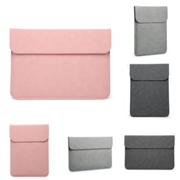 16 inches laptop UK - Macbook Matte For Shoulder Handbag Air Pro 13 15 16 Inch Bag Sleeve Laptop Case For Xiaomi Lenovo 14 15.6 Women Business Bags #252
