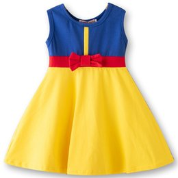 $enCountryForm.capitalKeyWord Australia - Highquality New Girls Clothing Cosplay Snow White Princess Dress Belle Birthday Dresses Mermaid Kids Halloween Costume 2019