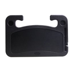 Car drink holders online shopping - 1pc Black Car Laptop Stand Notebook Desk Steering Wheel Tray Table drink Holder Car Multi function Card Table Computer