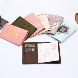 $enCountryForm.capitalKeyWord Australia - Zoukane New Cover Travel Passport Cover Card Case Women Men Travel Credit Card Holder Travel ID&Document Passport Holder CH02