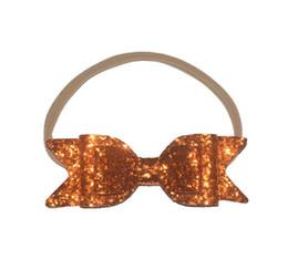 $enCountryForm.capitalKeyWord UK - Euro-American Girl Headwear 12CM Flash Butterfly Tie Hair Belt Baby Headband Hair Hoop Jewelry 16 Colors L1003