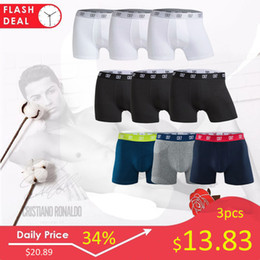 $enCountryForm.capitalKeyWord Australia - 3pcs lot Cristiano Ronaldo Cr7 Men's Boxer Shorts Underwear Cotton Boxers Sexy Underpants Brand Pull in Male PantiesMX190904