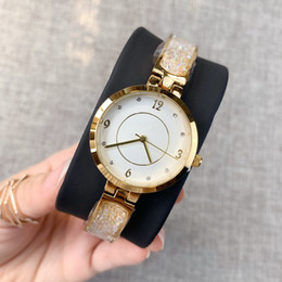 steel table clock UK - Hot New Style Full Diamonds Clock Luxury Women Watch Rose Gold Stainless Steel Sexy Lady Wristwatch High Quality Casual Table Free Box Gift