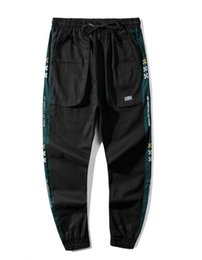 Cotton Overall Sales Australia - Designer off brand overalls one-piece embroidery small standard sports pants casual pants luxury sports pants black classic fashion hot sale