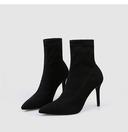 Wholesale fashion socks super for sale - Group buy Rivet Socks boot Red bottom High Heel ankle Ankle Boots Scarpins Studded Fashion Brand Designer Women short Booties with Original