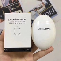 C Makeup Hand Creams Lotions LA CREME MAIN Veloute Adoucit Eclaircit smooth soften brighten Hand cream Skin care 50ml on Sale