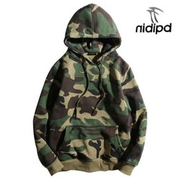 $enCountryForm.capitalKeyWord Australia - Army Green Camouflage Hoodies 2019 Winter Mens Camo Fleece Pullover Hooded Sweatshirts Hip Hop Swag Cotton Streetwear