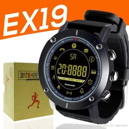 $enCountryForm.capitalKeyWord Australia - EX19 smart watch 5ATM swim waterproof Call SMS Alert Pedometer stopwatch fitness tracker Smartwatch Wristwatch for IOS Android iphone