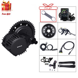 Wholesale Ebike Bafang Mid Motor BBSHD V W Electric Bicycle Conversion Drive Display Kits BB MM E bike Powerful Parts BBS03 BBS03B