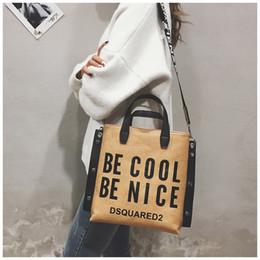 Purses Tote Bags NZ - Designer Fashion Handbag Women Letter Soft Messenger Female Shoulder Bags Large Capacity Shopping Tote Lady Crossbody Bag Purse w071