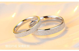 Wedding Ring Types Australia - Euro-American fashion couple diamond ring grinding process for men and women of the same type of wedding jewelry, a variety of models can be