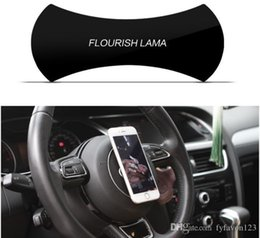 phone holder car anti slip UK - 2018 FLOURISH Mounts LAMA Powerful Strong Holder Stick Glue Anywhere Wall Sticker Anti Slip Washable Repeatedly Car Cell Phone Bracket a794