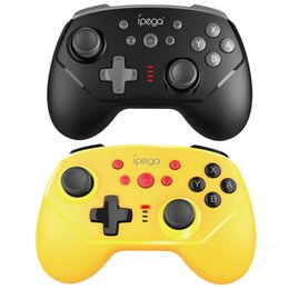 bluetooth mini joystick UK - Computer Game Controllers IPEGA Switch Mini Bluetooth Gamepad Supports Wireless   Wired Connection with 6-axis Joysticks